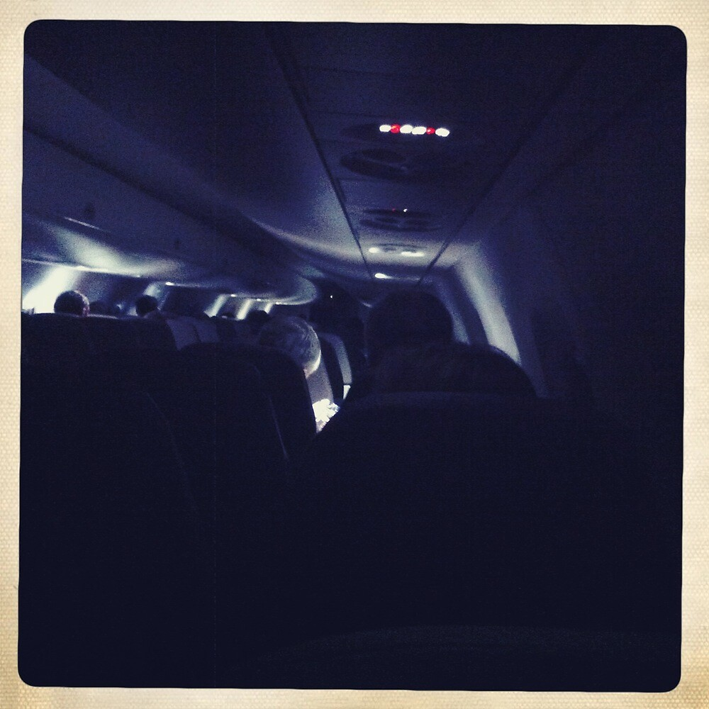 On The Airplane to Karlsruhe-Germany 4 by Fahar