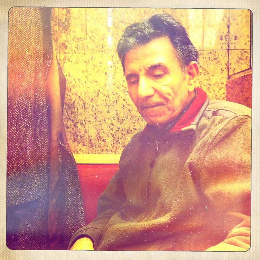 Tawfiq in Vienna cafe 5 by Fahar