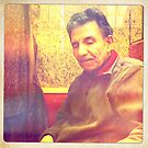 Tawfiq in Vienna cafe 5 by Fahar