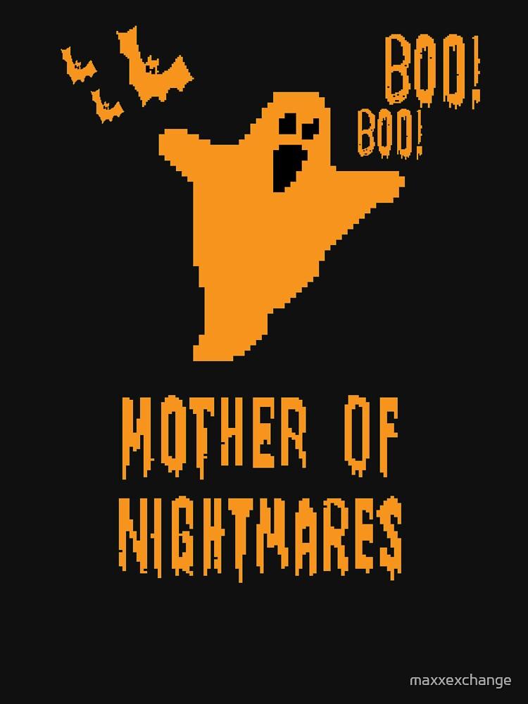 Mother of Nightmares Spooky Halloween Scary Bat Scene.  by maxxexchange