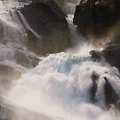Waterfall detail (2) by Karin Elizabeth