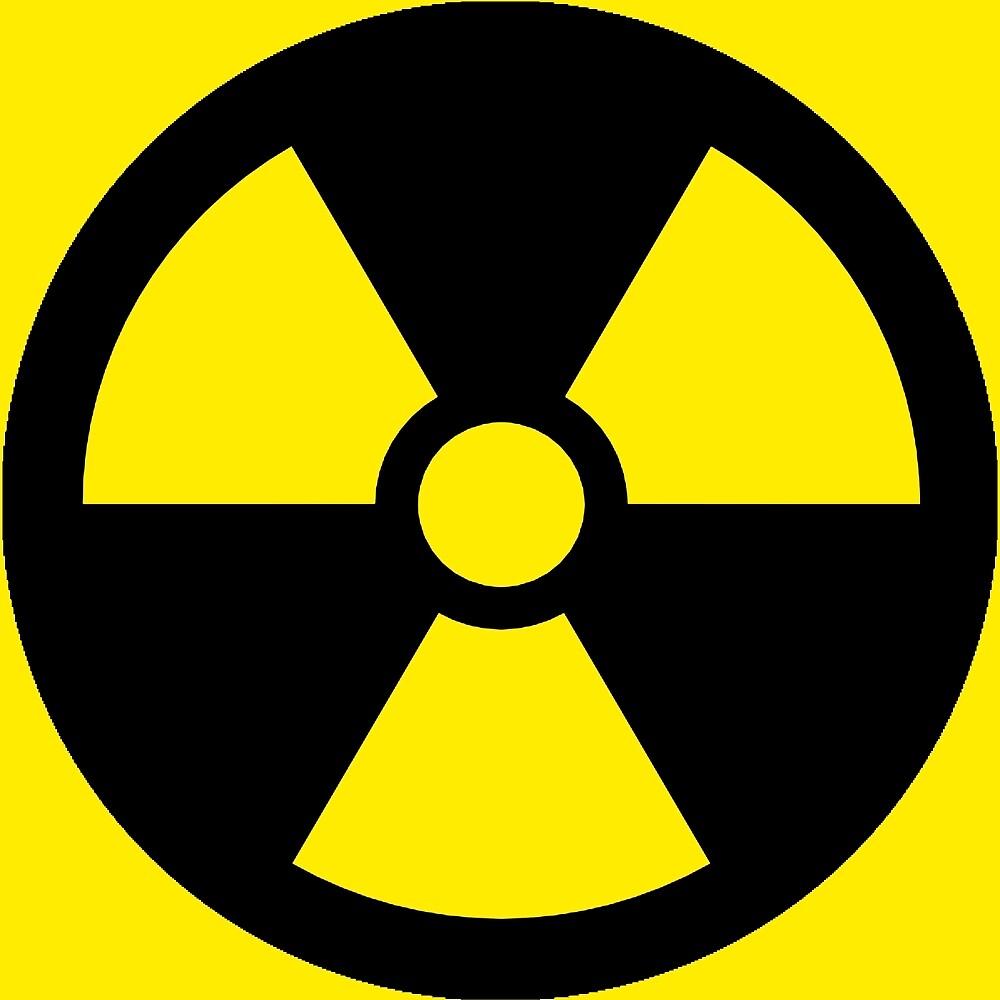 """Radiation Hazard Sign"" by pardock | Redbubble"