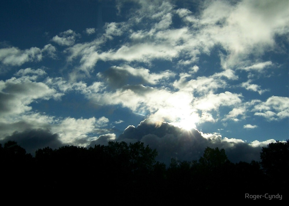 And the light overcame the darkness by Roger-Cyndy