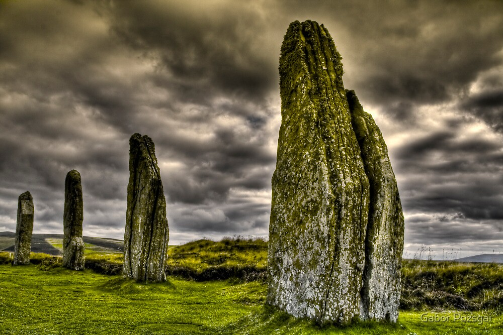 Ring of Brodgar, Orkney by Gabor Pozsgai