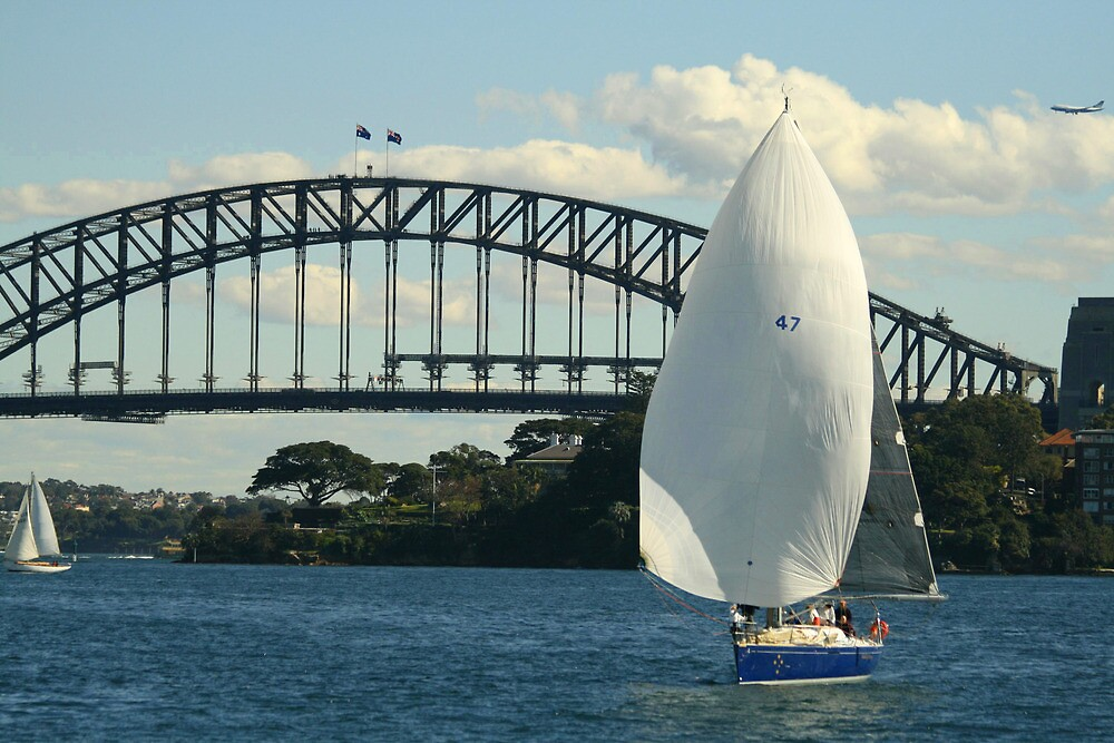 Sailing by Kezzarama