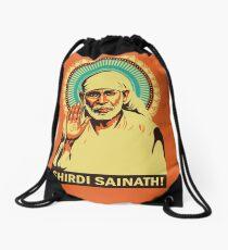 Sai Baba Drawstring Bag
