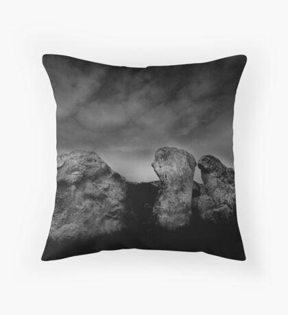 West Kennet Long Barrow #3 Throw Pillow