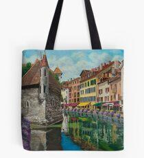 Medieval Jail In Annecy Tote Bag