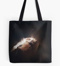 Above the Comet Tote Bag