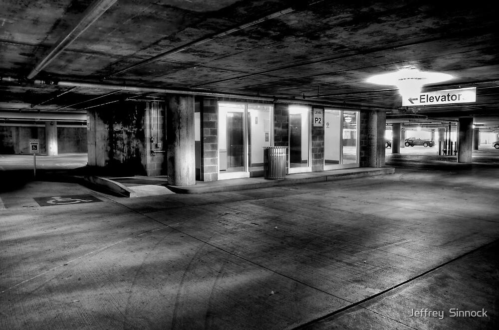 Can't park here by Jeffrey  Sinnock