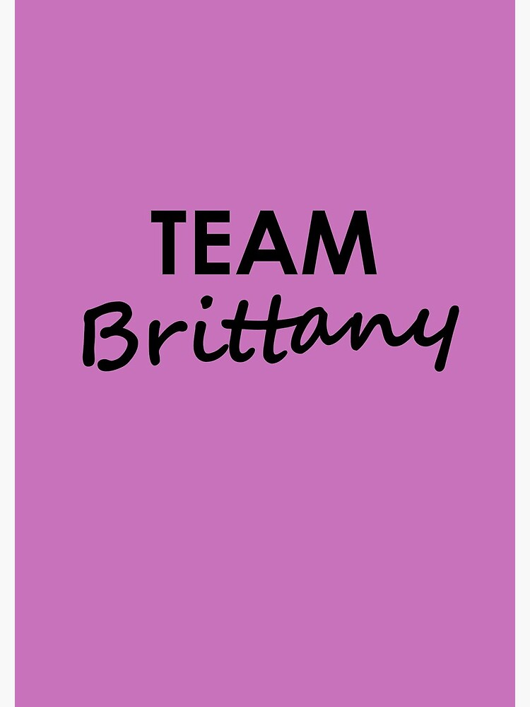Team Brittany - Notebook by embourne