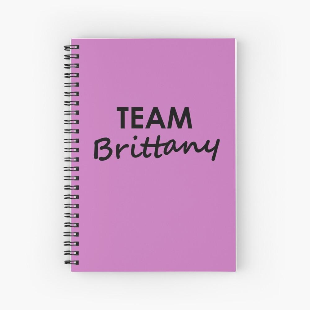Team Brittany - Notebook Spiral Notebook