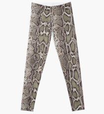 Snake Skin Print Leggings