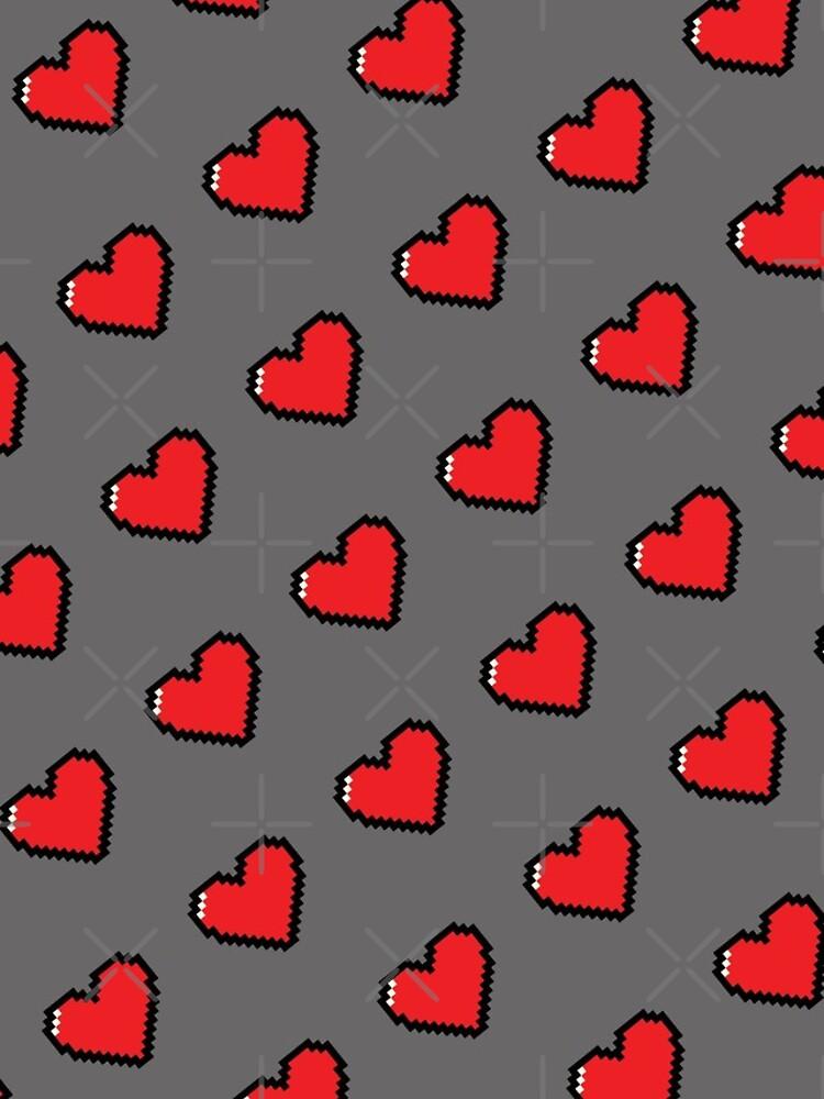 Digital Hearts Pattern by savesarah