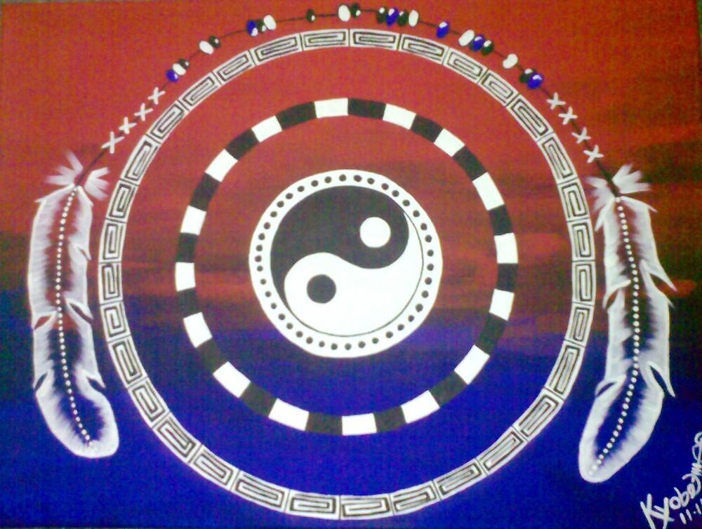 Yin Yang Tribal by Kyobe