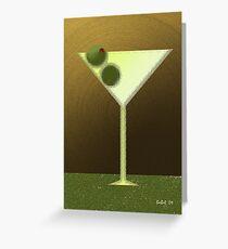 New Martini Greeting Card