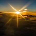 Sunset Above the Clouds by Lee Wilson