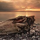 Tees Bay Sunset by Phillip Dove