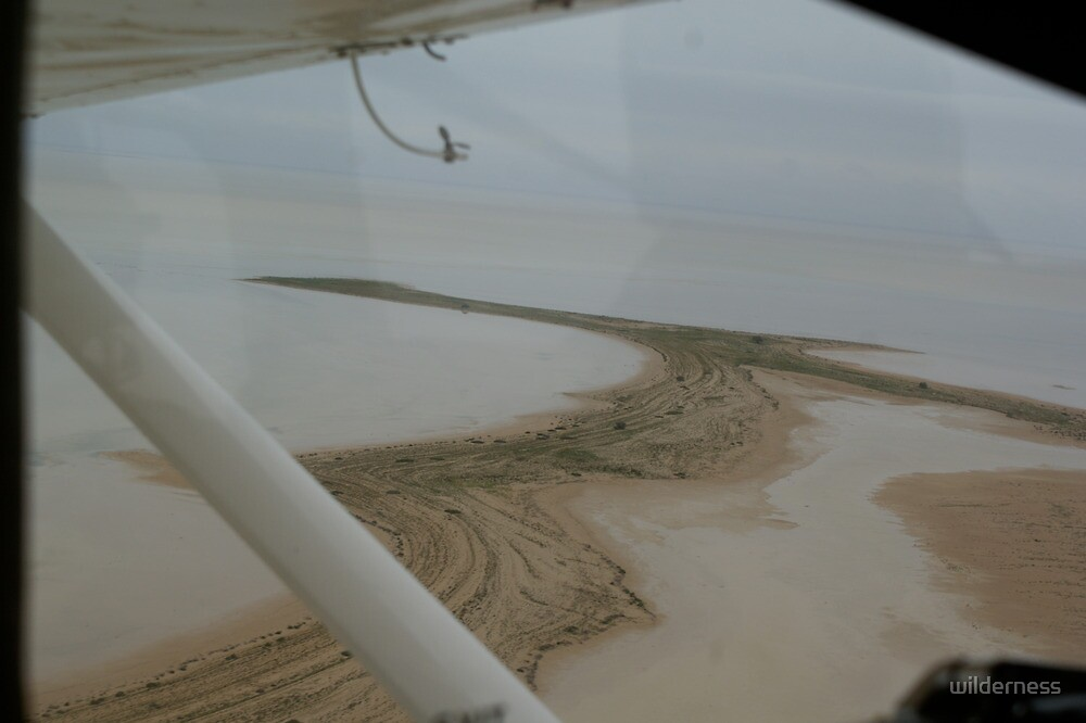 From The Air at Lake Eyre by wilderness