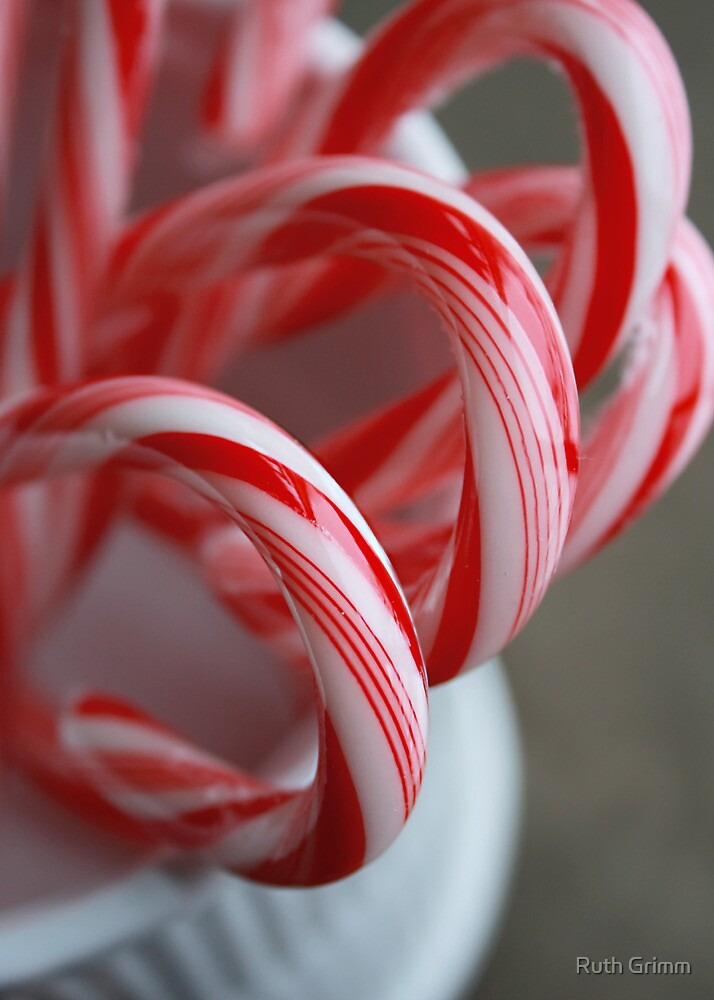 Candy Canes by Ruth Grimm