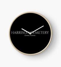 Harrison Cemetery –Kinston, Alabama Clock