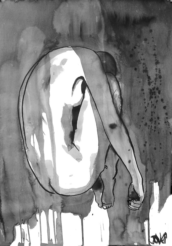 transient figure by Loui  Jover