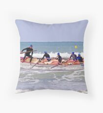 St Kilda Girls at Ocean Grove Throw Pillow