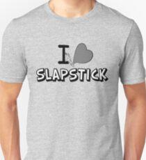 I love slapstick in black and white T-Shirt