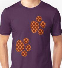 Orange And Rust Polka Dots T-Shirt