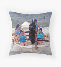 Torquay Temptations  at Ocean Grove Throw Pillow