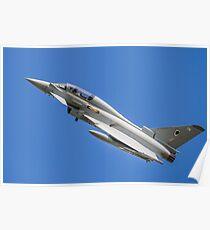RAF Typhoon ZJ808 Poster