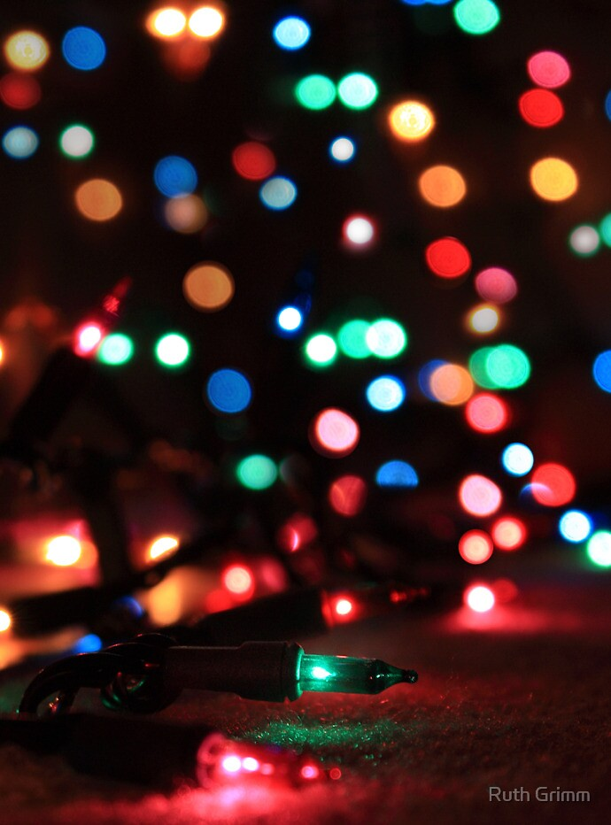 Bokeh Lights by Ruth Grimm