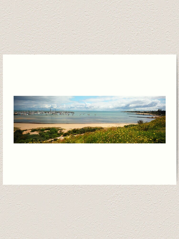 Alternate view of Sandringham Yacht Club - Panorama Art Print