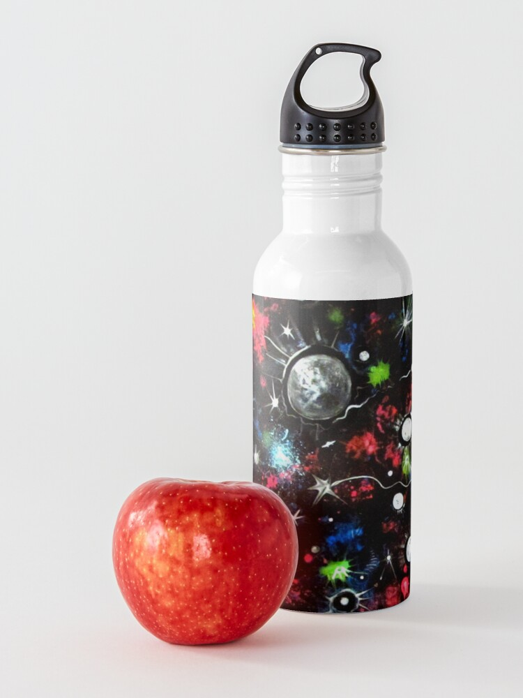 Alternate view of To the Moon and Beyond - Abstract Water Bottle