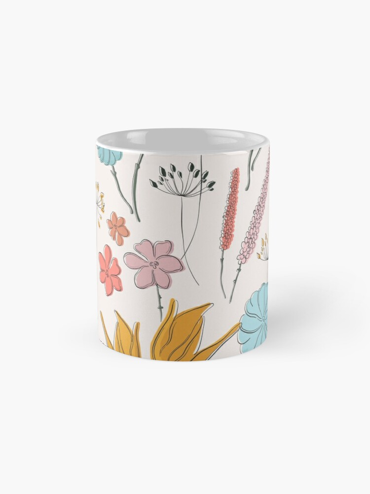 Alternate view of Summer flower print Mug