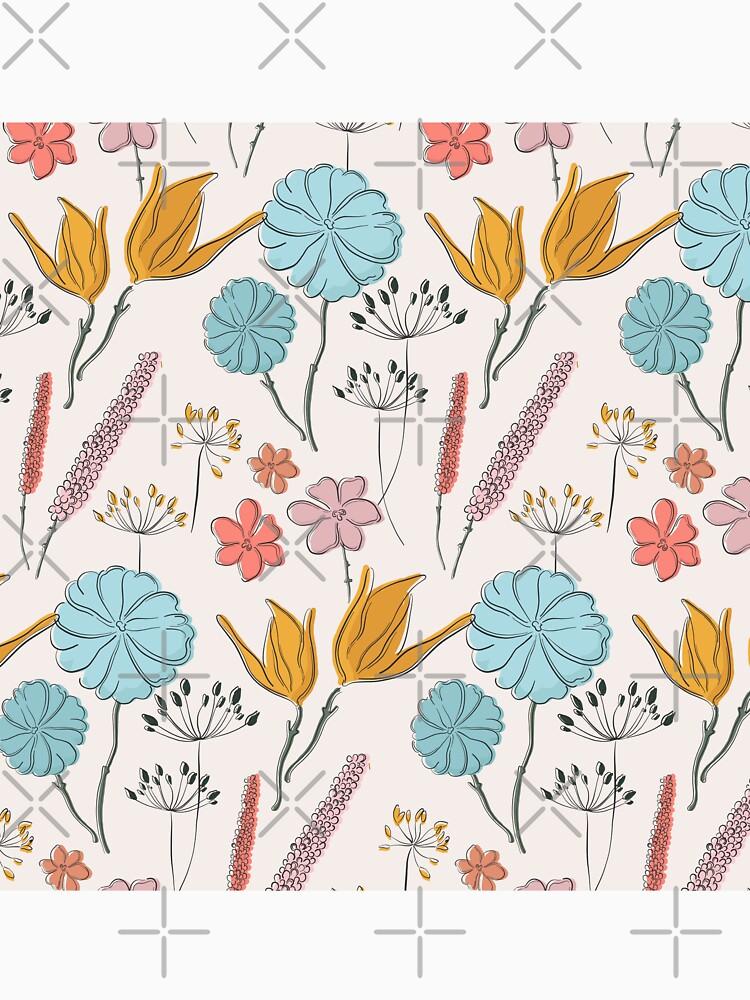 Summer flower print by Milatoo