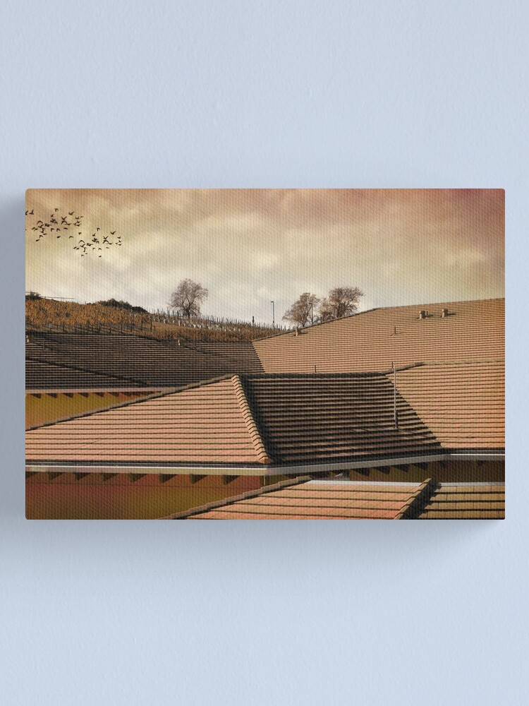 Alternate view of Angled Up Canvas Print