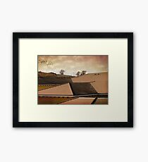 Angled Up Framed Print