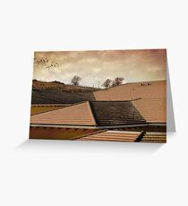 Angled Up Greeting Card