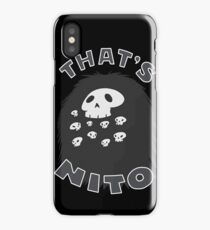 That's Nito (colored text!) iPhone Case/Skin