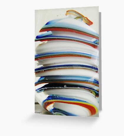 Stacks Of Colour Greeting Card