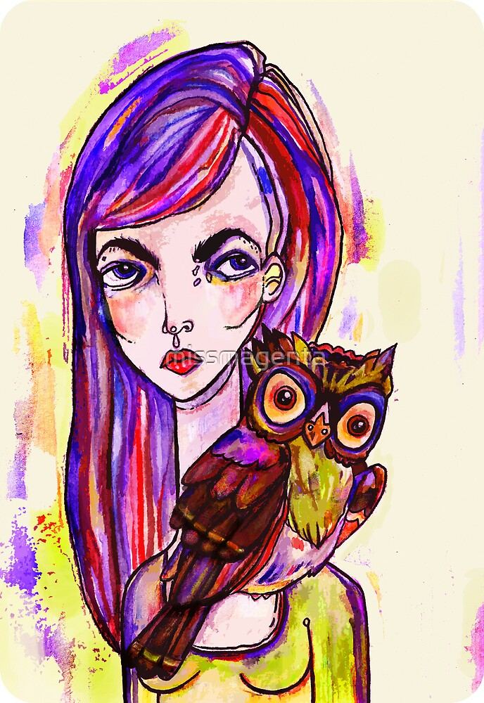 Night Owl by missmagenta