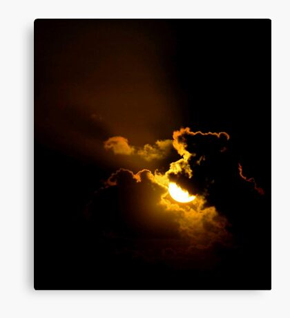 RIM LIGHTING Canvas Print