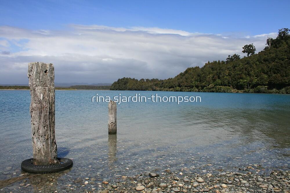 """""""okarito""""    okarito lagoon, west coast, south island, nz by rina sjardin-thompson"""