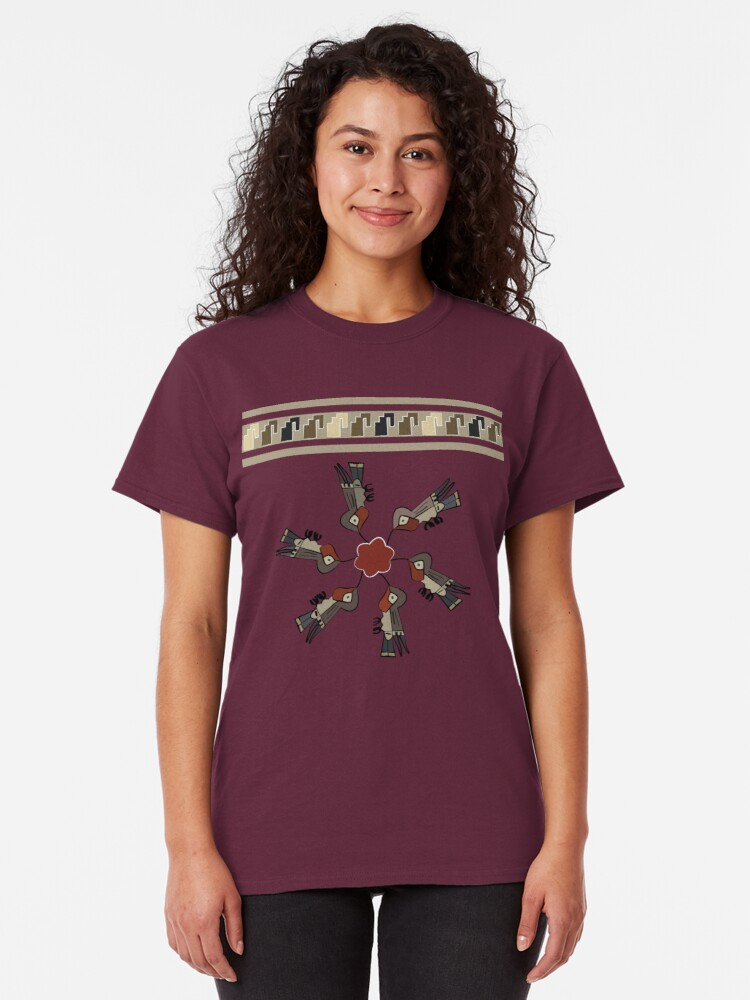Alternate view of Nazca Hummingbirds Classic T-Shirt