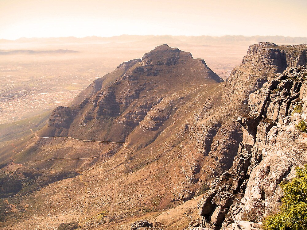 On top of Table Mountain  by DeeCl