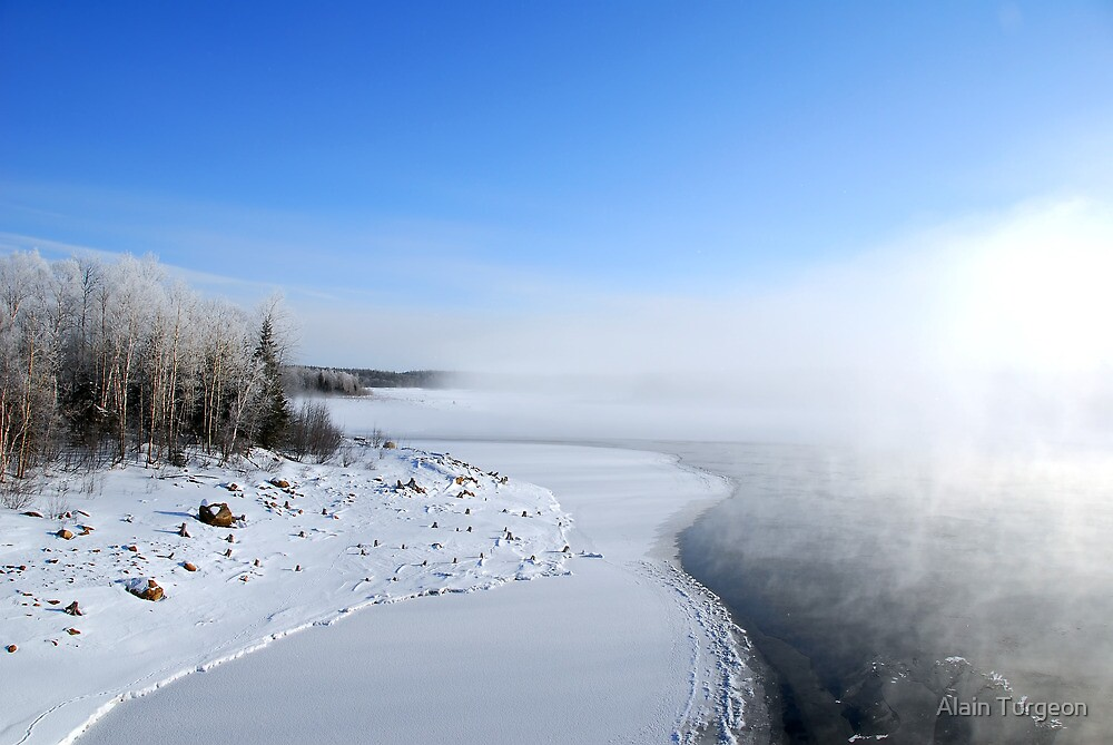 Frozen Shore by Alain Turgeon