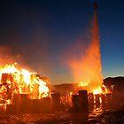 Fire at Visy Paper Mill Tumut 2 by John Vandeven