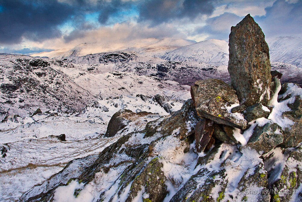 Snowy views from Castle How by Shaun Whiteman