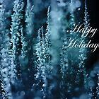 Calluna Happy Holidays In Blue by hurmerinta
